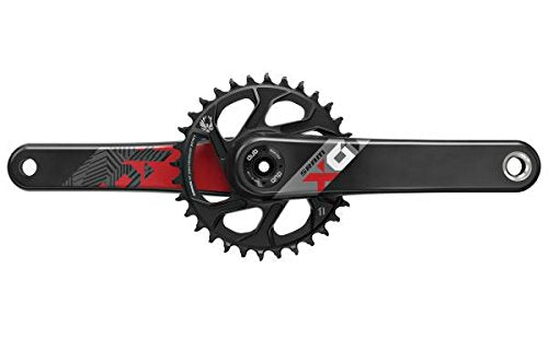 SRAM X01 Eagle Dub Mountain Bike Mtb Crankset - Boost Red, 175mm/32T