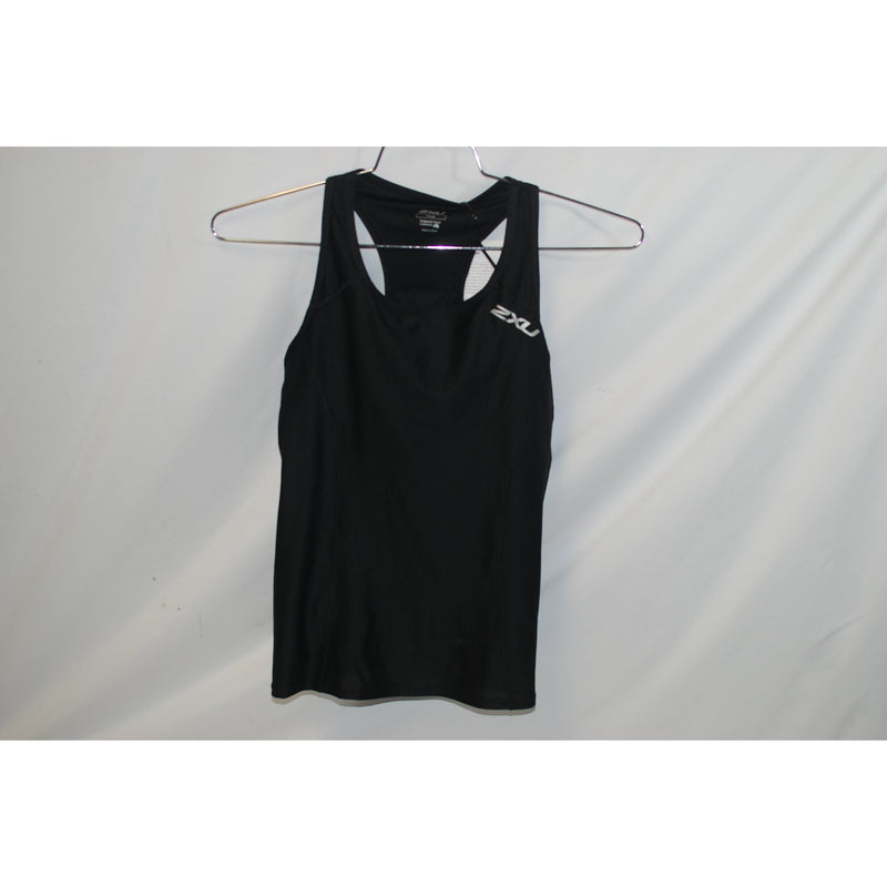 2XU Cycling Womens Active Tri Singlet Black Large L-Misc-The Gear Attic