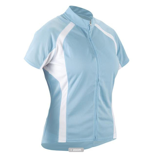 Cannondale Cycling Womens Classic Jersey Light Blue Small S-Misc-The Gear Attic