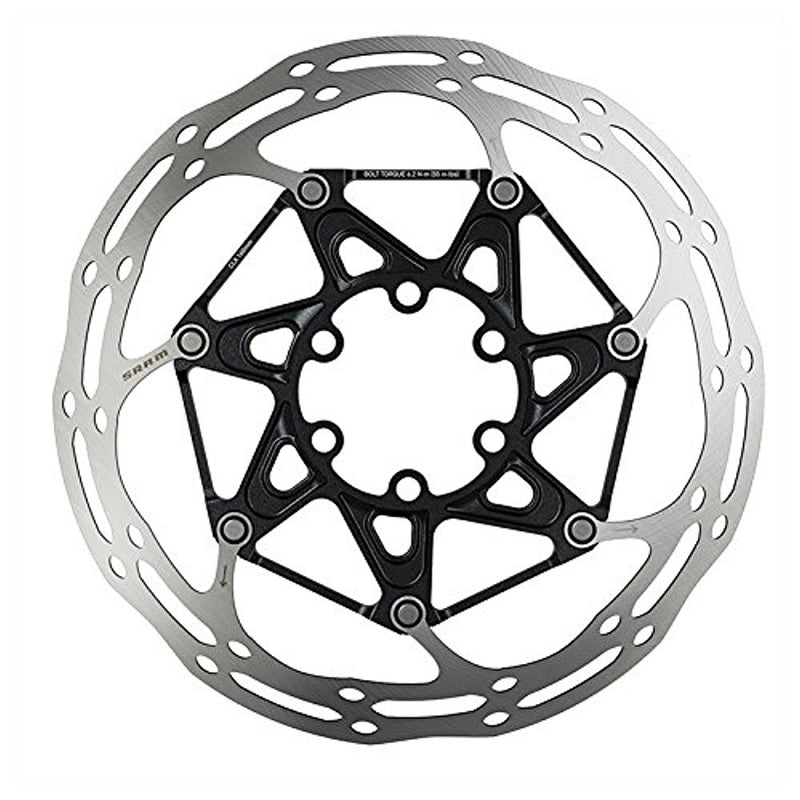 Sram Centerline X 2-Piece Disc Rotor Brakes - 160Mm - Silver - Centerline - 6B-Sporting Goods > Cycling > Bicycle Components & Parts > Brake Rotors-The Gear Attic
