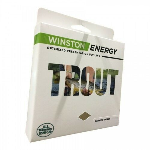 WINSTON ENERGY TROUT WF-3-F #3 WT WEIGHT FORWARD FLOATING FLY LINE