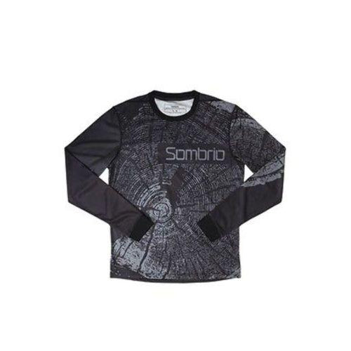 Sombrio Grappler Race Jersey Mountain Bike Cycling Top Black/Cedar Size XS New-Misc-The Gear Attic