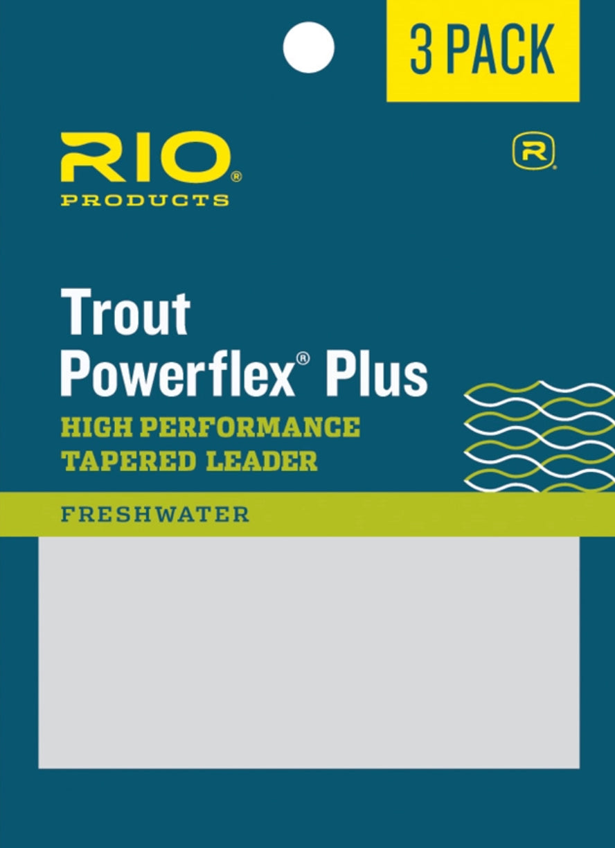 RIO Powerflex Plus 7.5Ft 4X Leader 3-Pack