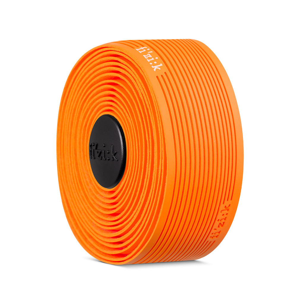 Fizik Cycling Bicycle Handlebar Tape Vento - 2mm - Microtex - Tacky - ORANGE FLUO