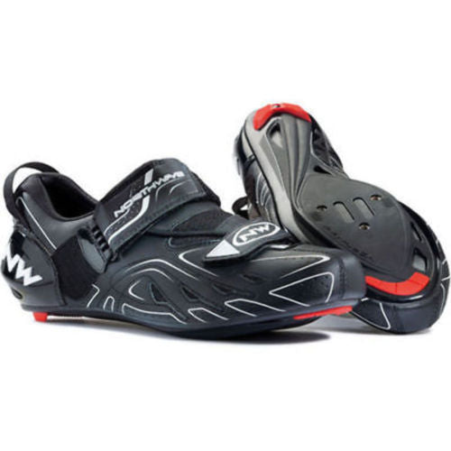 Northwave Tri-Sonic Cycling Triathlon Shoe Black Size 38 New-Misc-The Gear Attic