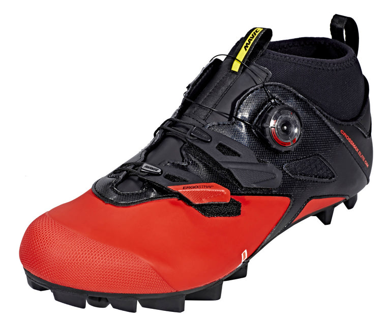 Mavic Cycling Men Crossmax Elite CM Cross Country Shoes Black Red UK 8.5 US 9