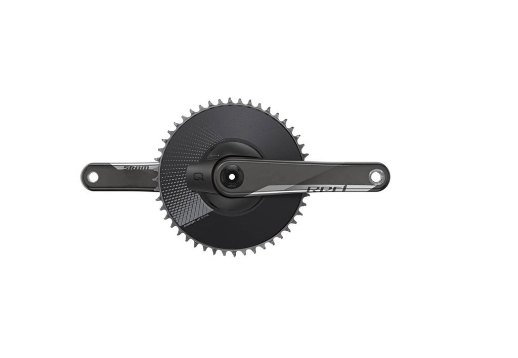 SRAM Red 1 AXS Crankset Speed: 12 Spindle: 28.99mm BCD: Direct Mount 48 DUB 175mm