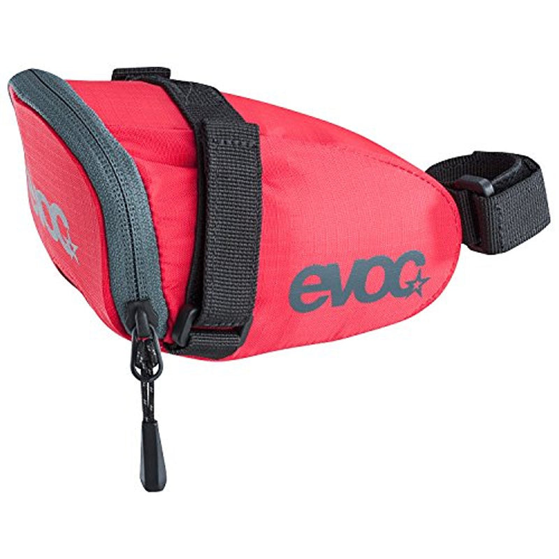Evoc Bicycle Saddle Bag .7L Red 70 g, 12 x 8 x 7.5 cm-Sporting Goods > Cycling > Bicycle Accessories > Bags & Panniers-The Gear Attic