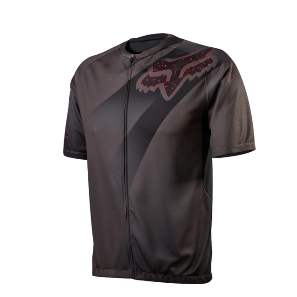 Fox Head Cycling Men's LIVEWIRE DESCENT Jersey Charcoal Size Small-Misc-The Gear Attic