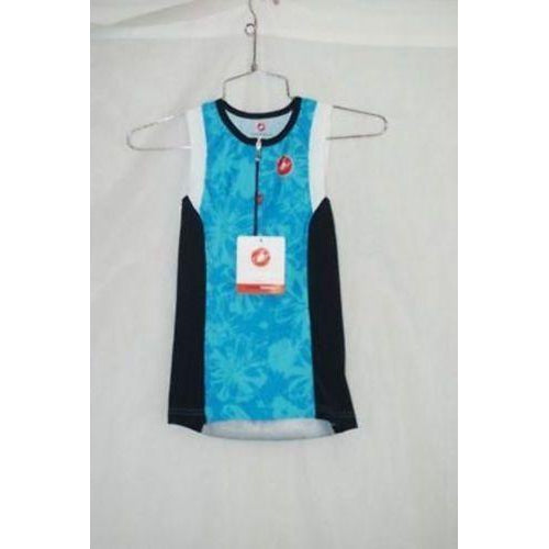 Castelli Womens Cycling Free W Tri Singlet Triathlon Size S New Color Blue-Misc-The Gear Attic