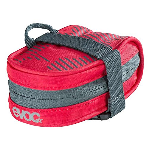 EVOC Bicycle Tool / Saddle Bag Race, Red One Size .3L-Sporting Goods > Cycling > Bicycle Accessories > Bicycle Transport Cases & Bags-The Gear Attic