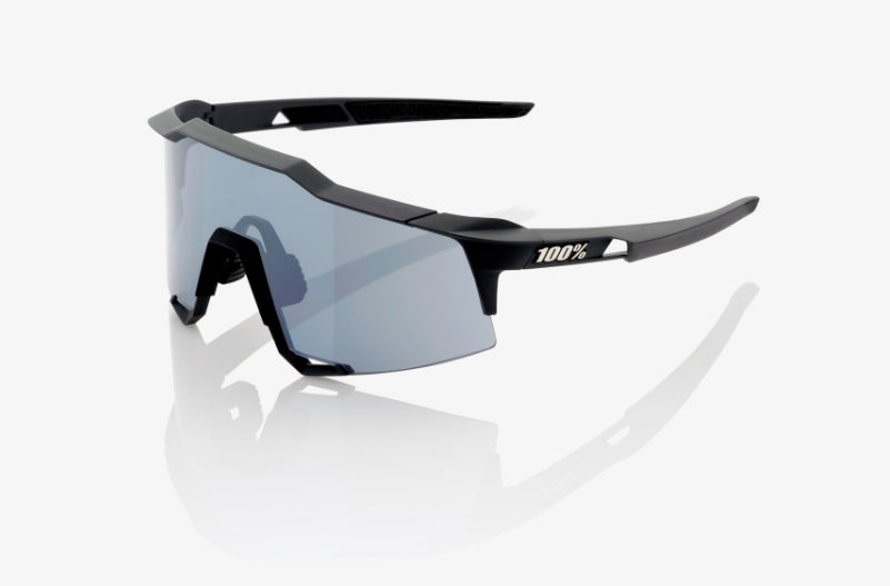 100% Cycling Unisex Adult Speedcraft - Soft Tact Black - Smoke Lens