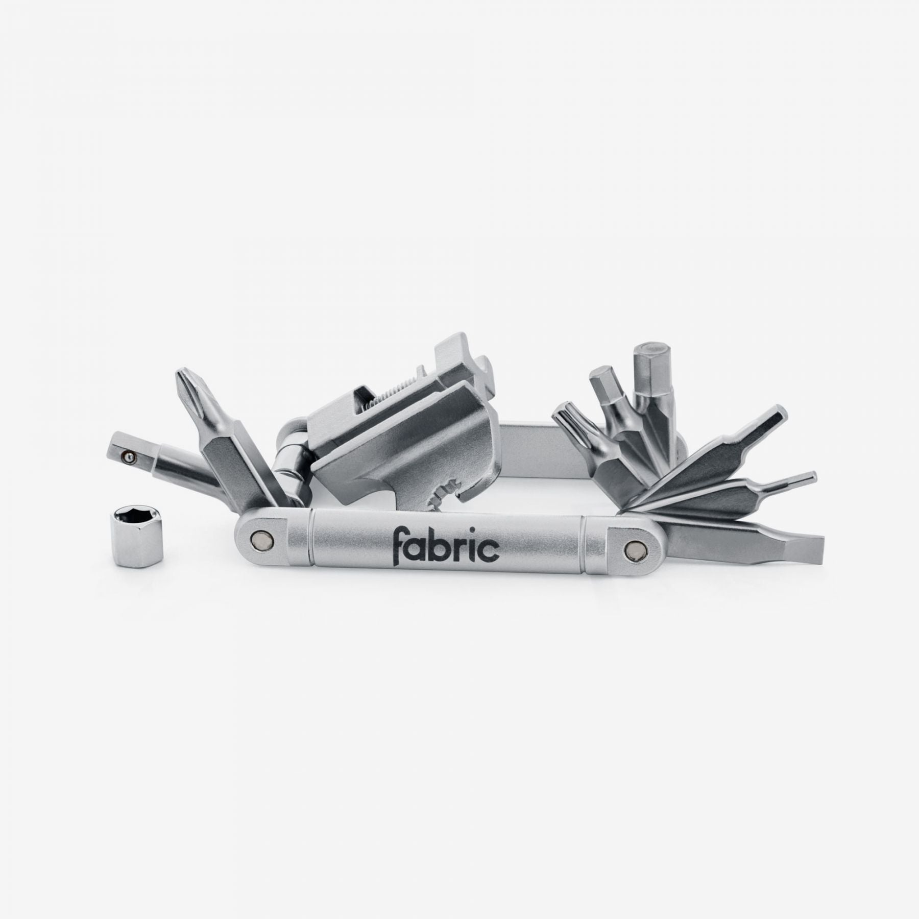 Fabric Essentials Bicycle 16 in 1 Mini Tool SLV Silver