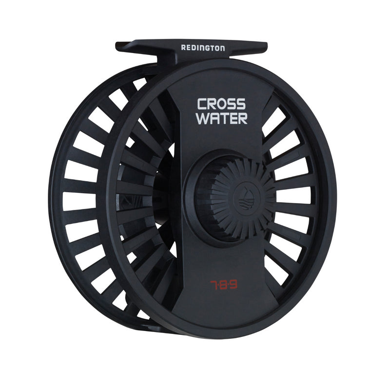 Redington Crosswater 4/5/6 Fly Reel Black