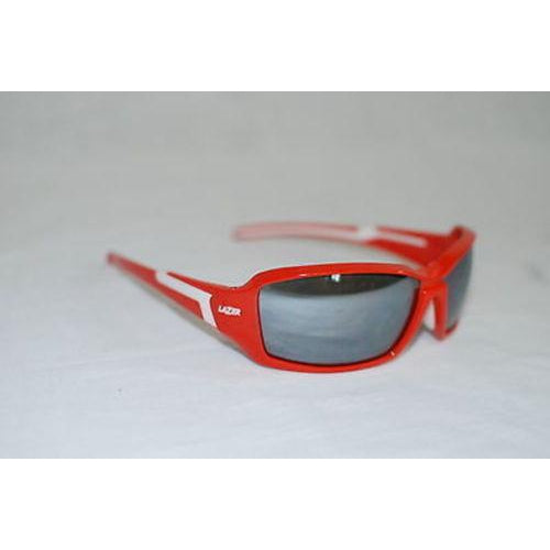 Lazer Xenon X1 Sunglasses Red Frame w/ Smoke Lens Blocks 100% UVA and UVB Rays-Misc-The Gear Attic