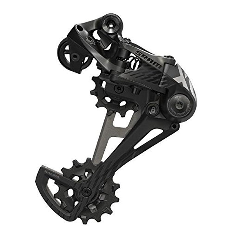 SRAM Eagle X01 XO1 1 x 12-speed MTB Mountain Bike Rear Derailleur Type 3.0 Black-Sporting Goods > Cycling > Bicycle Components & Parts > Derailleurs (Rear)-The Gear Attic