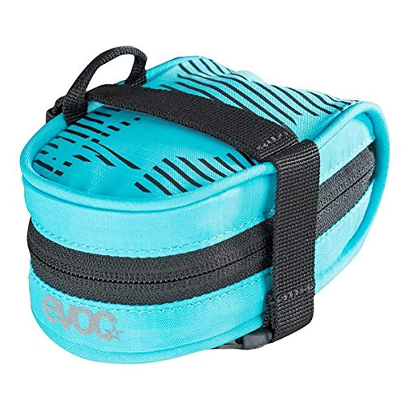Evoc Bicycle Saddle / Tool Bag Race Neon Blue One Size .3L-Sporting Goods > Cycling > Bicycle Accessories > Bags & Panniers-The Gear Attic