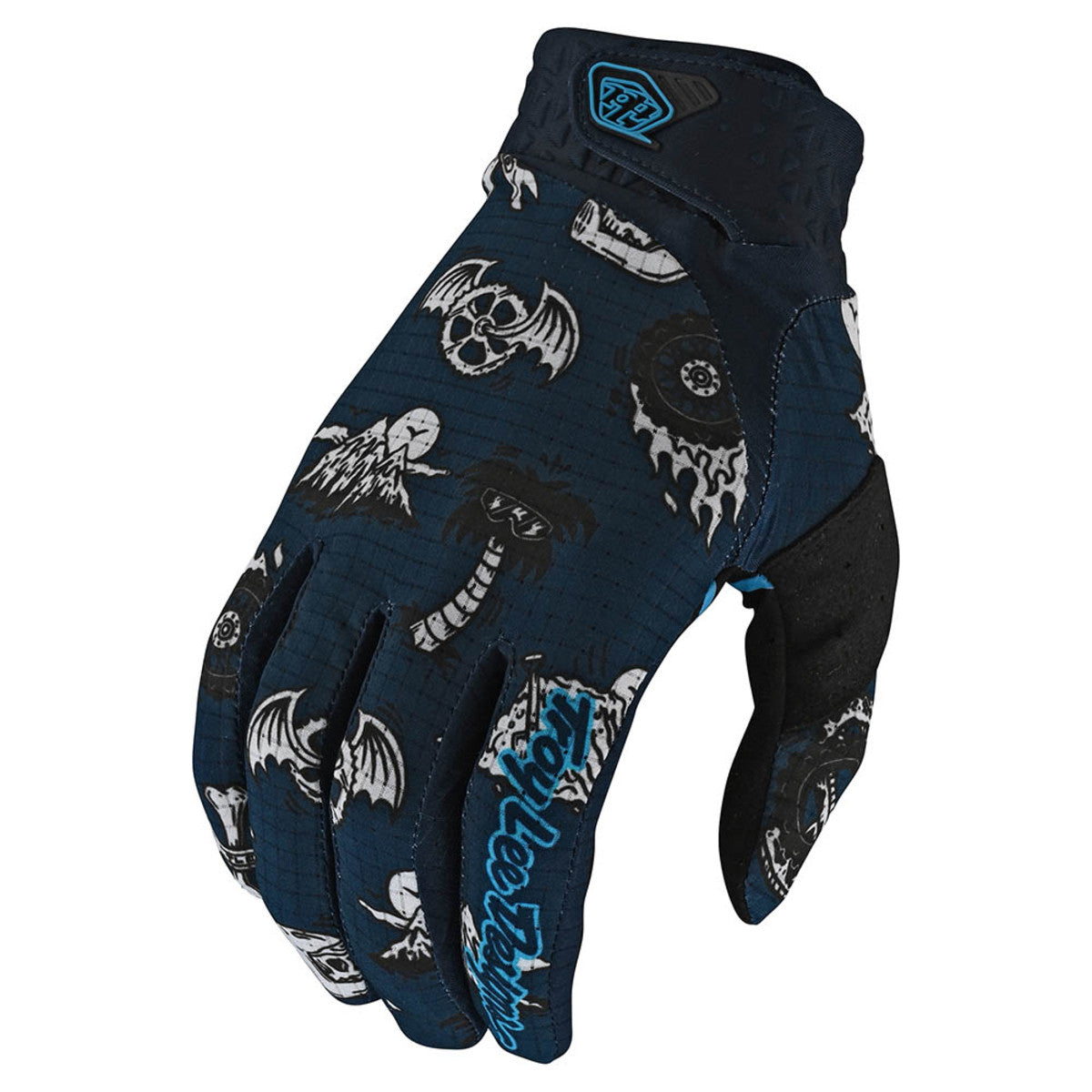 Troy Lee Designs Full Finger AIR GLOVE; ELEMENTAL NAVY XL