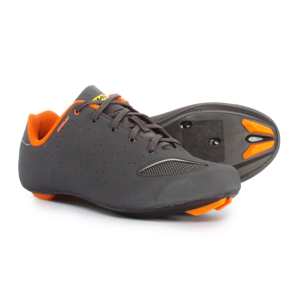 Mavic Cycling Men Aksium III 3 Road Shoes Gray Orange 10.5 EUR 44 2/3