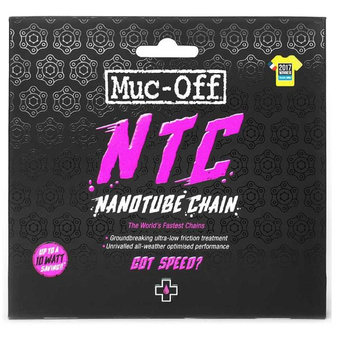 Muc-Off Nanotube Ultra Low Friction Bicycle Chain, 11sp., 114 links, Sram Red-Misc-The Gear Attic