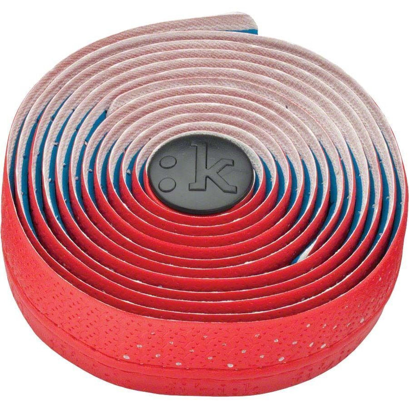 Fizik Performance Tacky Touch 3mm Cycling Bar Tape Red w/ Logos New-Misc-The Gear Attic