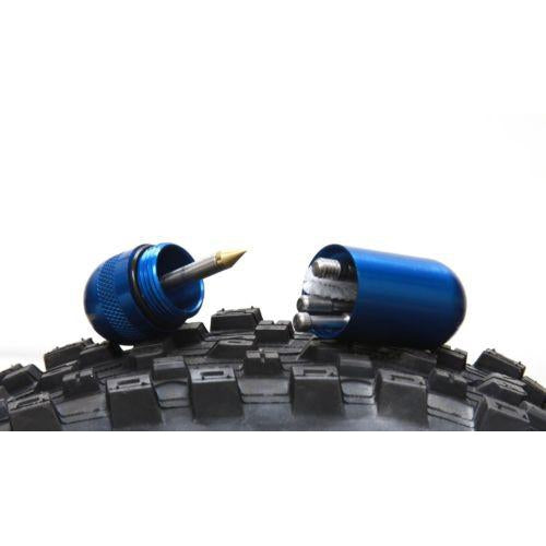 Dynaplug Mircro Pro DMP-1281 Bicycle Tubeless Tire Quick Repair Plugs Blue New-Misc-The Gear Attic