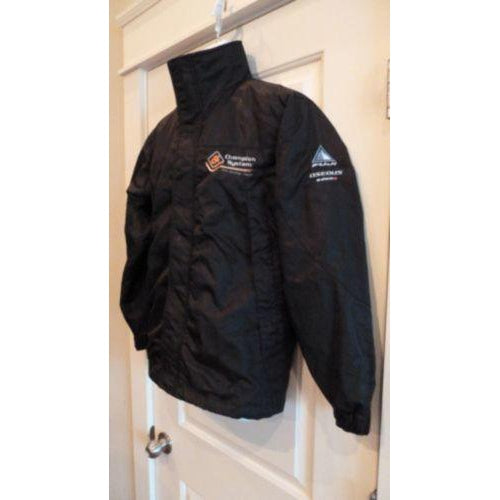 Official Champion System Pro Cycling Team Men's Casual Winter Jacket Black XS-Misc-The Gear Attic