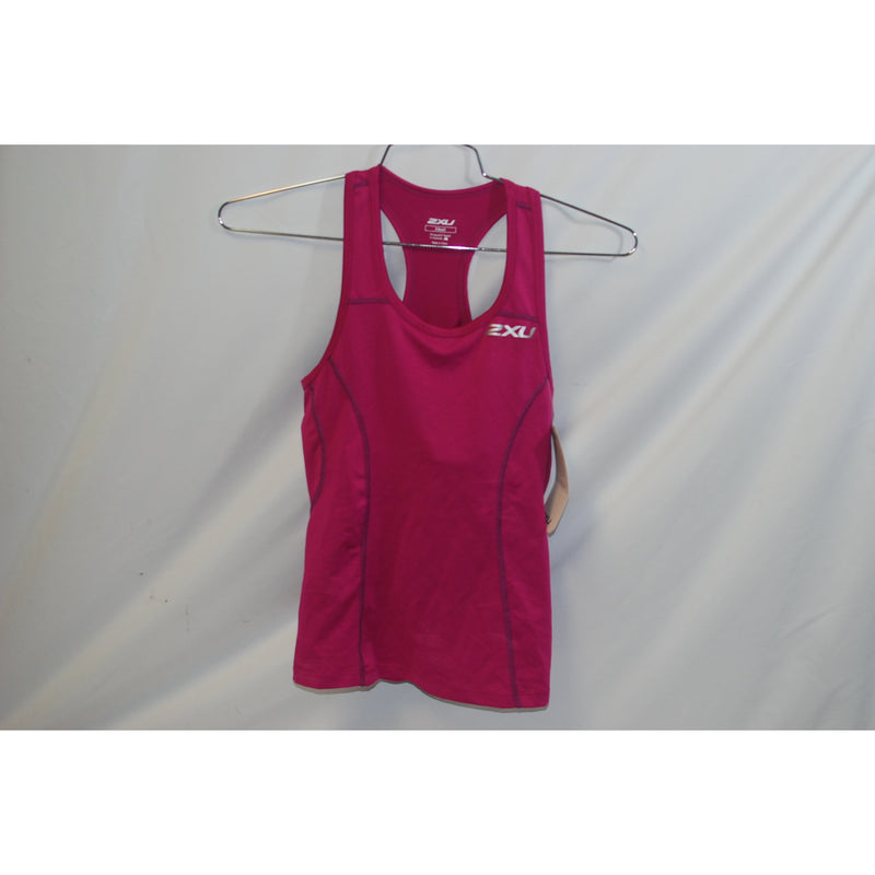 2XU Cycling Womens Active Tri Singlet Ultra Violet/Prism Purple XS Extra Small-Misc-The Gear Attic