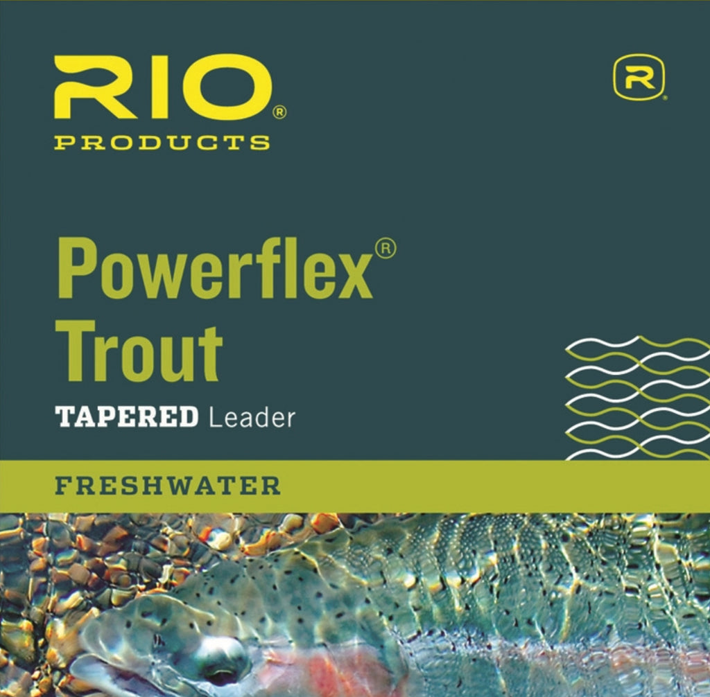 RIO Powerflex 9Ft 4X Leaders 3 Pack