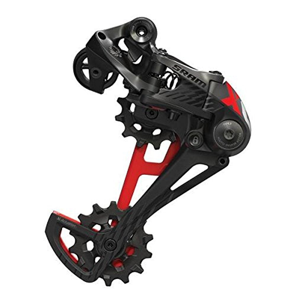SRAM X01 XO1 Eagle 1 x 12-Speed Mountain Bike Mtb Rear Derailleur Red-Sporting Goods > Cycling > Bicycle Components & Parts > Derailleurs (Rear)-The Gear Attic