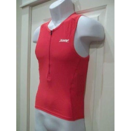 Zoot Sports Men's Active Tri Tank Small Red New-Misc-The Gear Attic