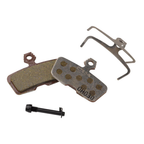 SRAM Guide / Trail Disc Brake Pads Organic Pad Aluminum Back Plate Set New