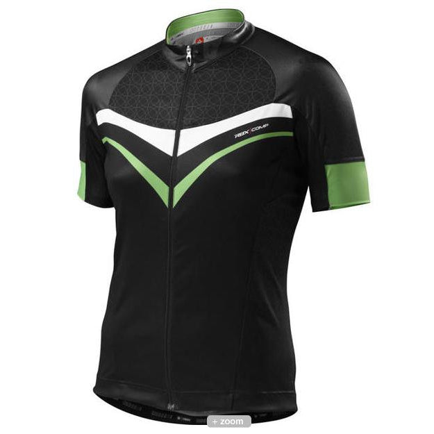 Specialized Cycling Womens RBX Comp Jersey SS Black/Moto Green Large L-Misc-The Gear Attic
