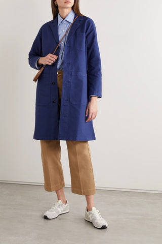 Alex Mill Long Work Jacket - Navy