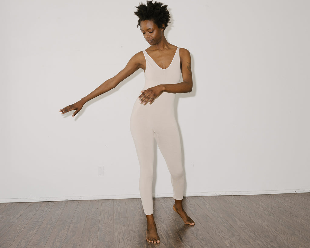 Baserange Oleta Jumpsuit Nude pas mal nyc greenpoint brooklyn williamsburg boutique independent fashion lifestyle store