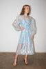 AÉRYNE Sarah Dress Petite Feuille Bleu pas mal nyc greenpoint brooklyn williamsburg boutique independent fashion lifestyle concept store