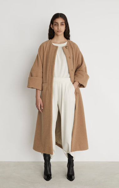Rodebjer Nusa Coat Camel new arrivals pas mal nyc greenpoint brooklyn williamsburg boutique independent fashion lifestyle concept store fall19 winter19