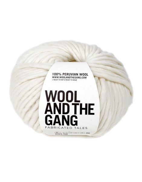 Wool and the Gang, Knitting, Crazy Sexy Wool, Ivory, Peruvian Wool, pas mal nyc greenpoint new york boutique shopping