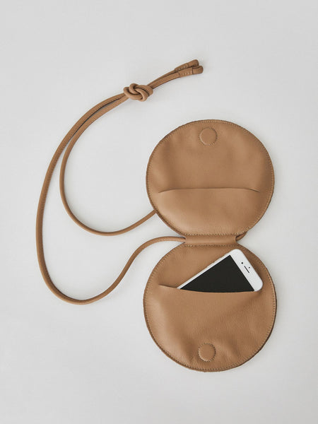 ARE STUDIO DISC POUCH CIRCULAR BAG BELT FANNY PACK CLUTCH CROSSBODY WAIST BAG Pas Mal NYC BROOKLYN WILLIAMSBURG GREENPOINT New York CONTEMPORARY CLOTHING STORE INDEPENDENT BOUTIQUE