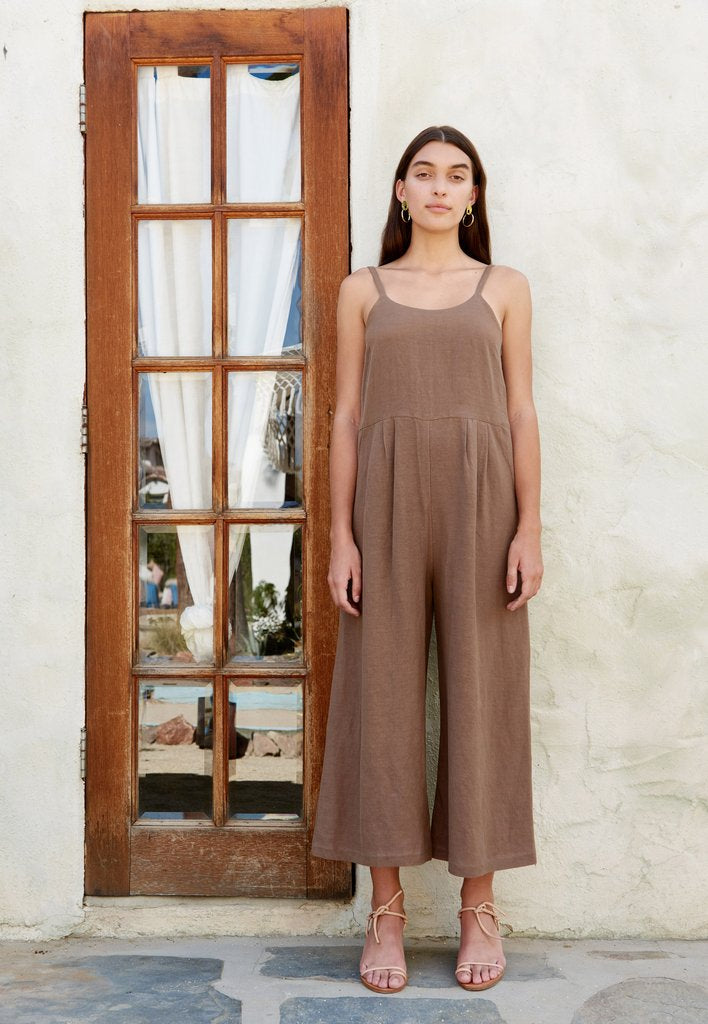 First Rite Dip Pantsuit Cocoa pas mal nyc greenpoint brooklyn williamsburg boutique independent fashion lifestyle concept store