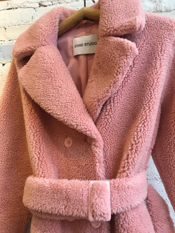Stand Studio Faustine Coat - Light Pink
