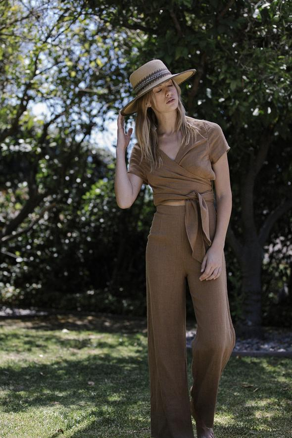 Six Crisp Days Simis Jumpsuit Camel pas mal nyc greenpoint brooklyn williamsburg boutique independent fashion lifestyle concept store fall19 winter19