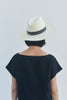 Marcell Packable Straw Hat - Bleach