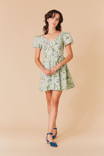 Samantha Pleet Flora Dress - Blooming