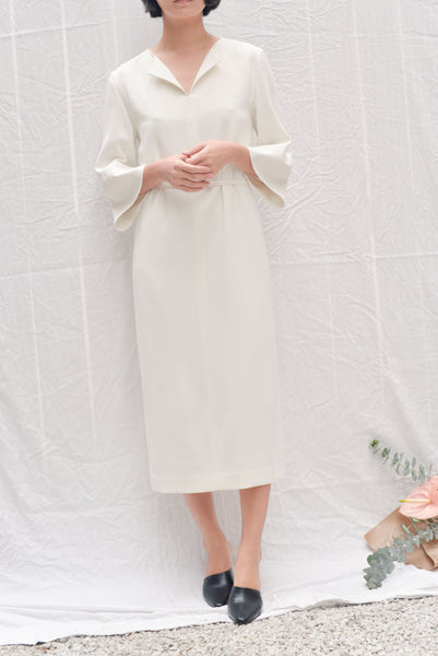 Leha Pont Dress White pasmal_pasmalnyc_outfit_williamsburg_pasmal_greepoint_brooklyn_concept_store_lifestyle_womenswear