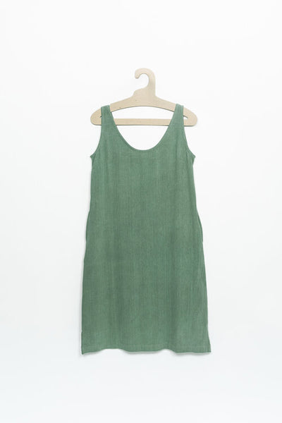 PO-EM Sundress - Seafoam Cotton