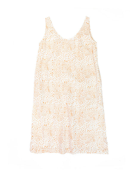 PO-EM Sundress - Painted Coral Cotton
