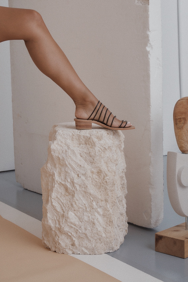 St. Agni Ines Sandal Black new arrivals, pas mal, nyc, greenpoint, brooklyn, williamsburg, boutique, independent, fashion, lifestyle, concept store, fall19, winter19