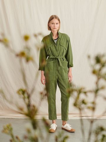 Alex Mill Expedition Jumpsuit - Army Olive
