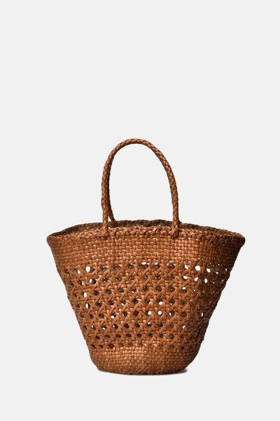 Dragon Myra Cannage Basket - Tan